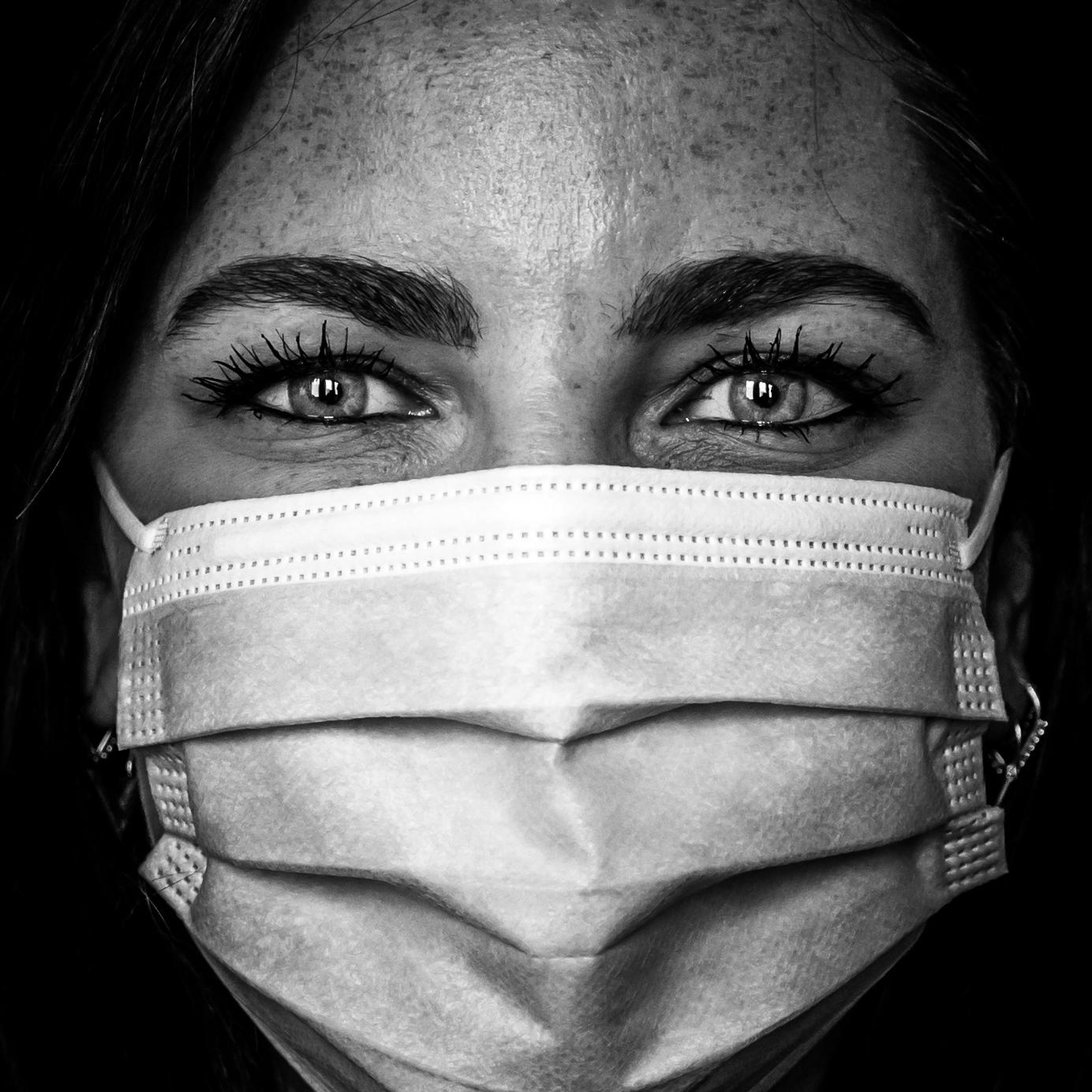 Anne de Buck – Mask Portrait Series (Ashkan Mortezapour Photography) (1 of 1)