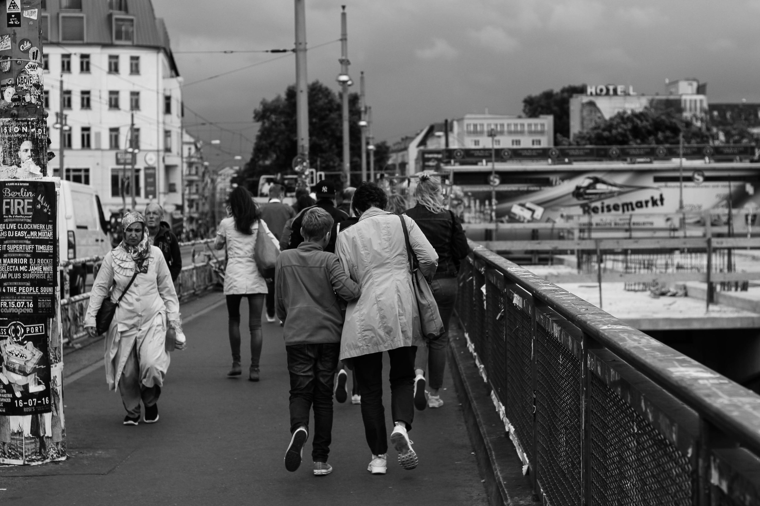 Berlin Crossroads (by Ashkan Mortezapour